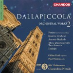 Dallapiccola Orchestral Works, Volume 2